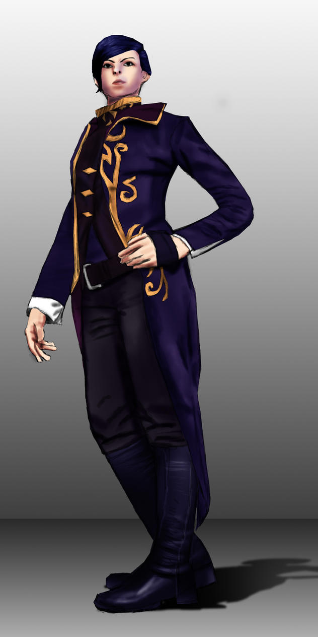 Dishonored 2 - Empress Emily Kaldwin by joethejoey