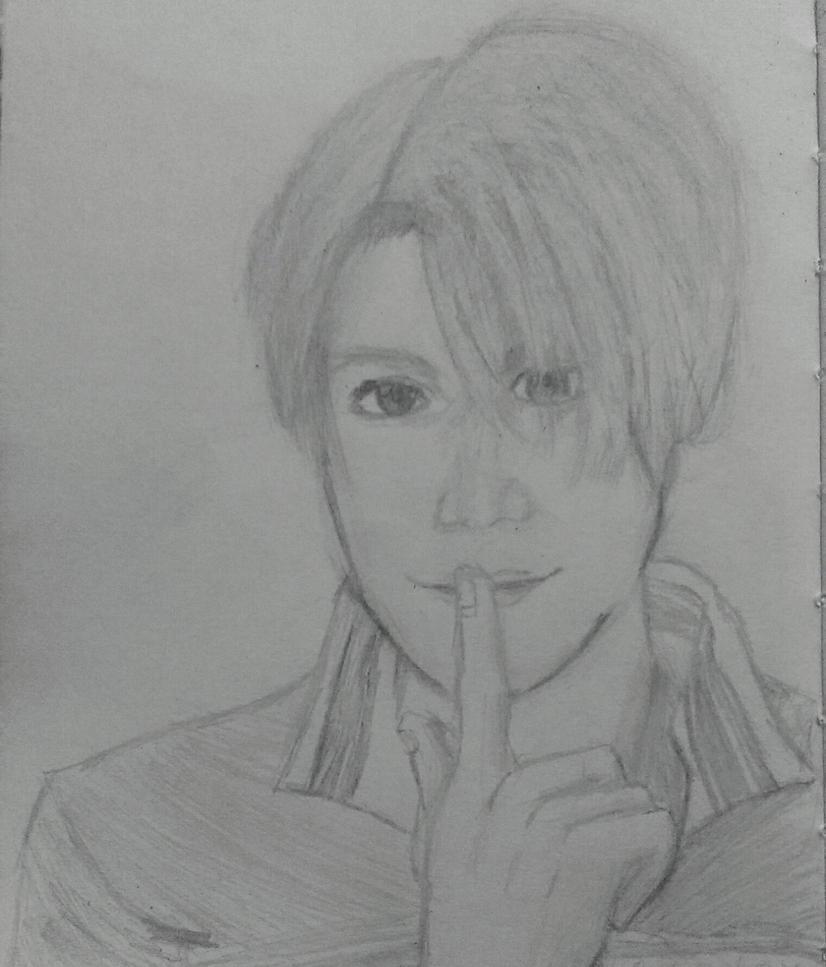 Yuri!!! on Ice - Viktor Nikiforov sketch by joethejoey