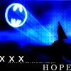 HOPE Batman by jokericons