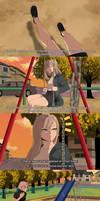 [BNHA OC - Maeda Emi] Before the Entrance Exam...