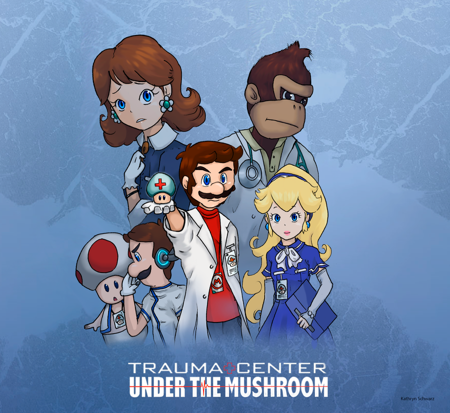 TRAUMA CENTER UNDER THE MUSHROOM by apples-and-bananas