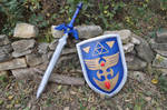 The Master Sword and ALTTP Hylian Shield Foam Prop