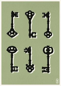 Rusty old keys