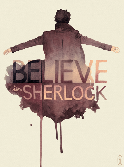 Believe in Sherlock by joniina