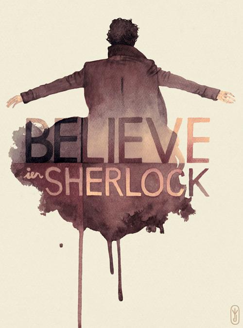 Believe in Sherlock by joniina