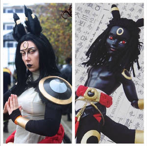 Cosplay side by side