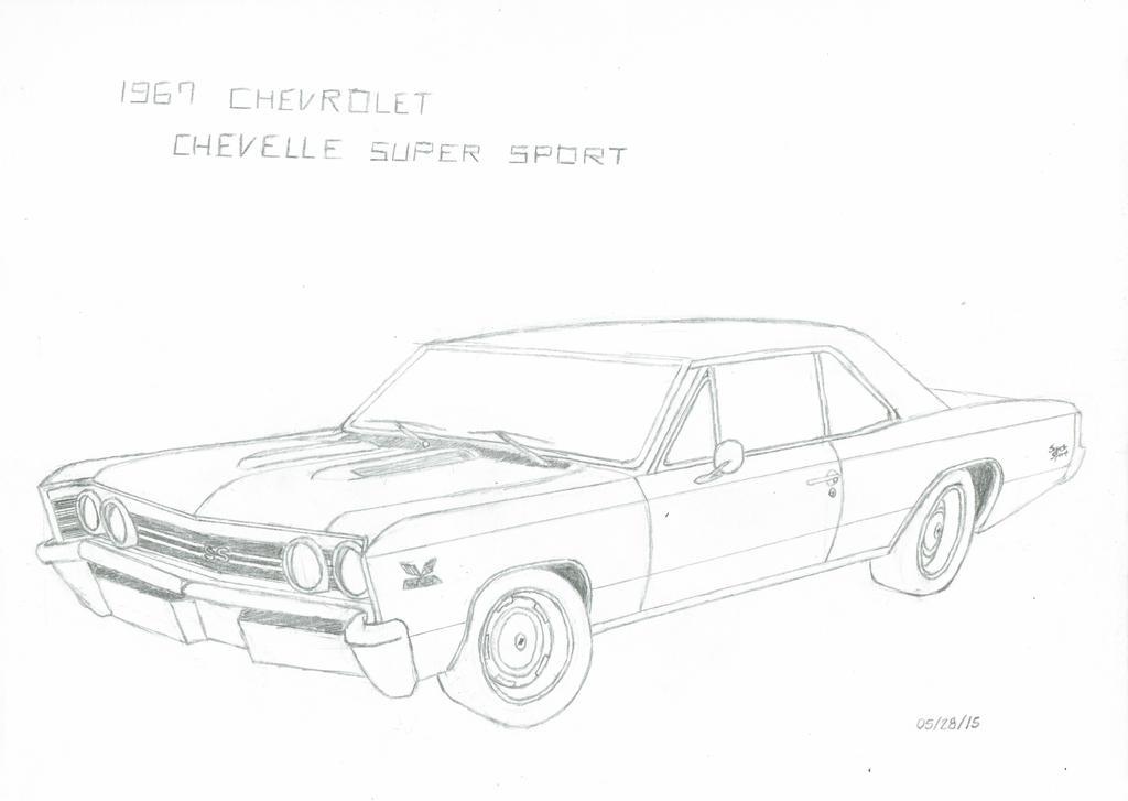 1967 chevrolet chevelle ss by akiraneko5 on deviantart