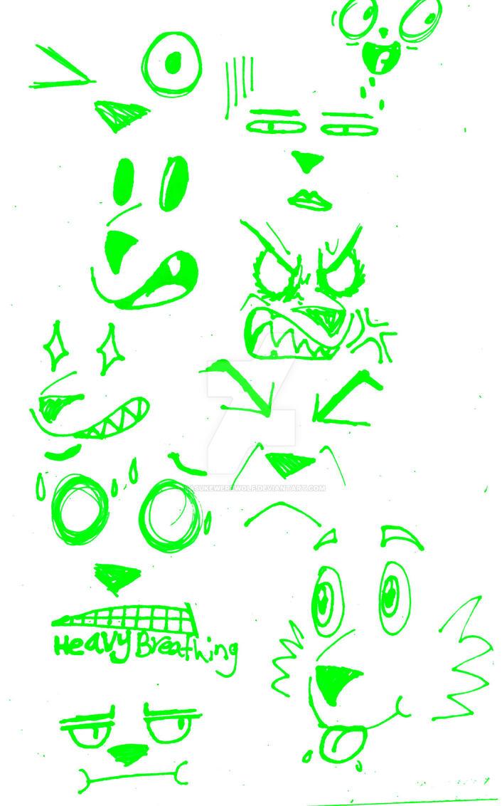 face dump by Sasukewerewolf