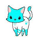 Pixel Cat by Tigerlillyzoey
