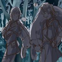 Sketch - woods