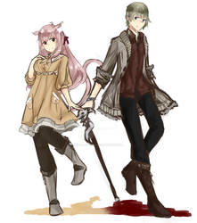 Character Designs 195 + 196