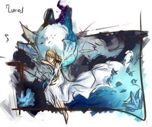 Concept Art Rough 04 - Luna