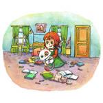 Childrens book sample watercolor 2