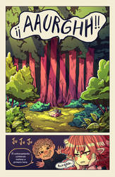 La brujita vampiro comic page sample 3 by catalinacorvalan
