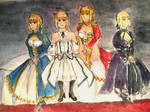 Fate- Harem of Heroines