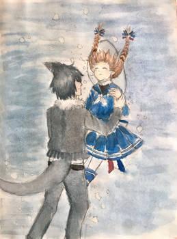 Wadanohara x Samekichi- Always by Your Side