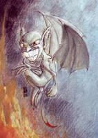 Evil Mephit by Selus