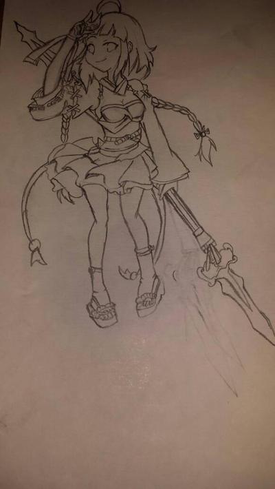 Elsword character  Ara by XxAskAmberTheCatXx