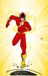 Day 27: The Flash by Meejub