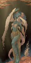 Fallen Angel by elotta