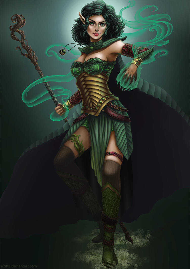Com - Druid by elotta