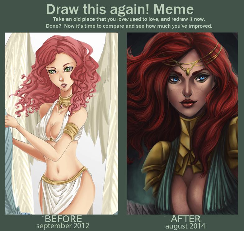 Draw this again - Kari by elotta