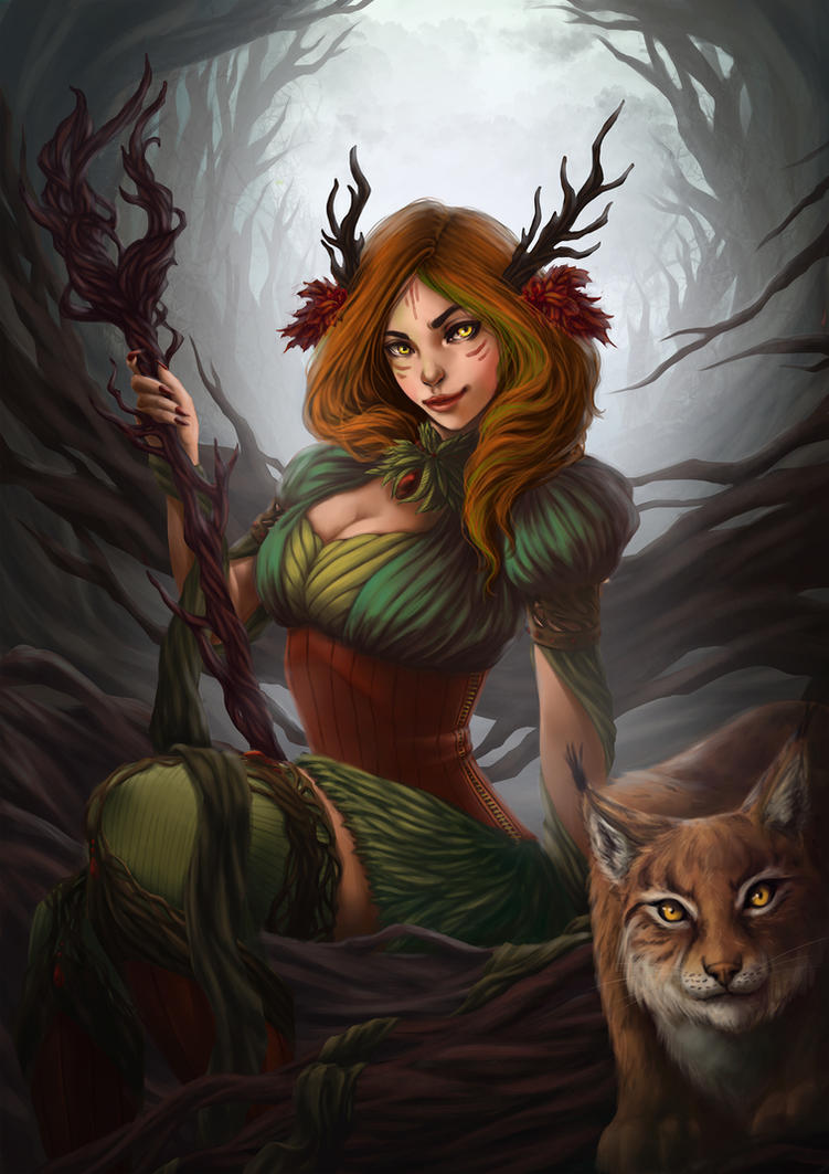 Forest Witch by elotta