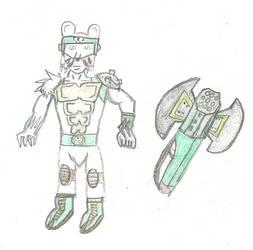 Digimon Frontier ice warrior fusion