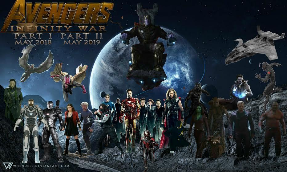 Avengers Infinity War by ultronbeta on DeviantArt