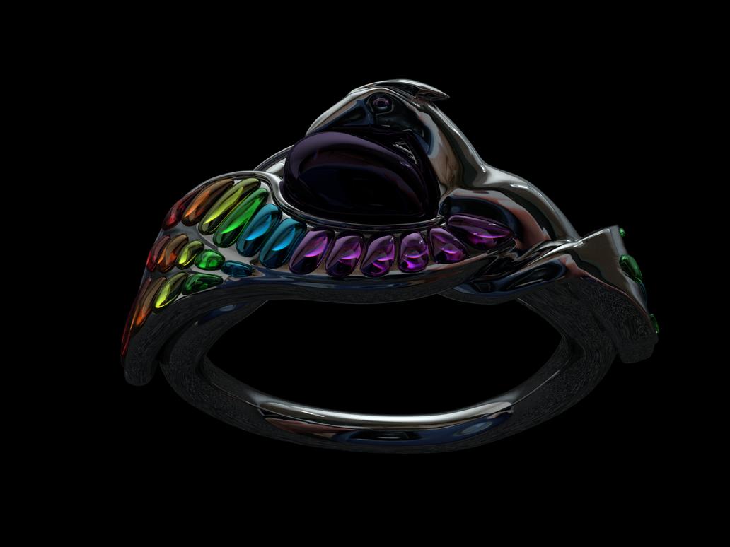 Phoenix Ring Render by FrostKittyAnimation