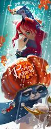 autumn fan-ava. by AleksandraKhalilova
