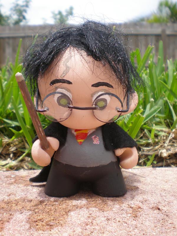 Harry Potter Munny Figure by Stephy-Sama