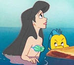 Melody and Flounder