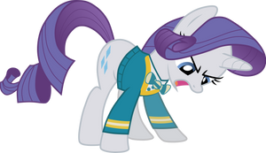 Rarity in sweater (Vector) by Chrzanek97