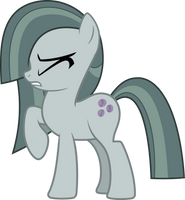 Marble Pie shy (Vector) by Chrzanek97