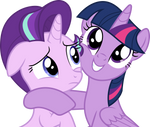 Starlight Glimmer and Twilight Sparkle (Vector)