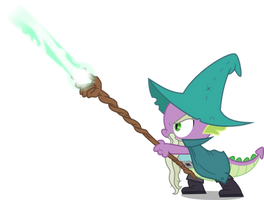 Spike wizard (Vector) by Chrzanek97