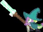 Spike wizard (Vector)
