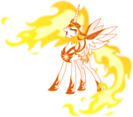 Daybreaker laughing evilly (Vector)