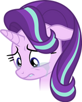 Starlight Glimmer crying (Vector) by Chrzanek97