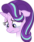 Starlight Glimmer crying (Vector)