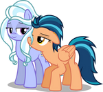 Indigo Zap and Sugarcoat as a couple (Vector) by Chrzanek97