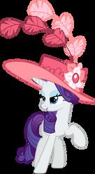 Rarity in a fancy hat (Vector) by Chrzanek97
