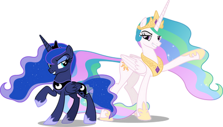 Princesses On Mlp Vectorclub Deviantart
