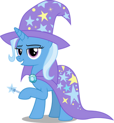 Trixie (MLP 10th anniversary vector)