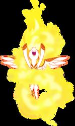 Daybreaker on fire (Vector)