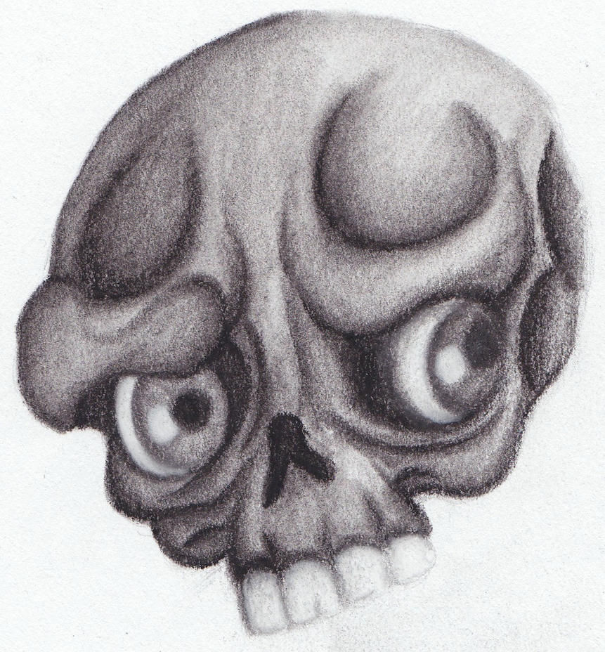 charcoal skull flash by caylyngasm on deviantart