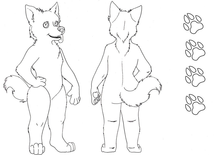 Male Character Ref Sheet by HeavenlyOdyssey