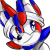 Pixel Icon Comm - Redblue by Silverxuno