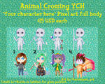 Animal Crossing YCH by TinyMamaFox